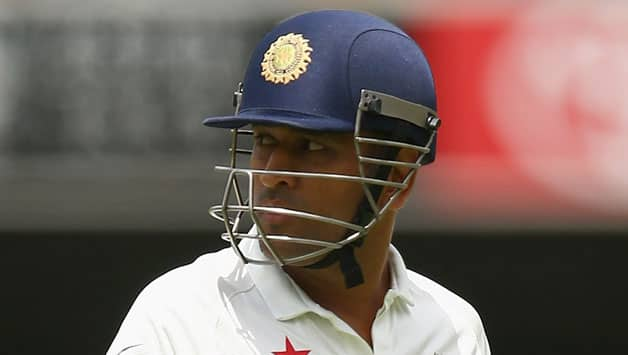 Dhoni captained India in 60 Tests from 2008 to 2014.  © Getty Images