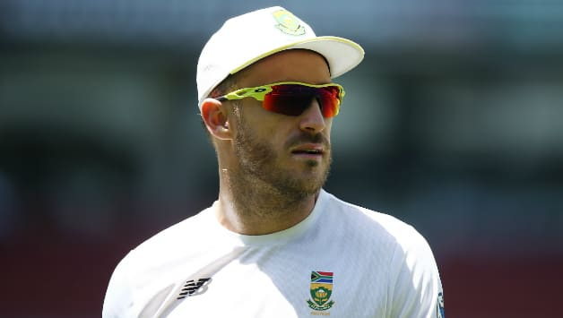 South Africa skipper, Faf du Plessis © Getty Images