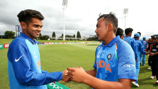 Kamlesh Nagarkoti (l) has been Prithvi Shaw's (r) most lethal weapon © Getty Images