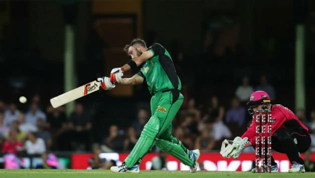 BBL 2017-18: Glenn Maxwell smashes 84 against Sydney Sixers ahead of IPL Auction