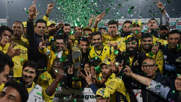 Peshawar Zalmi are the defending champions in PSL 2018 © AFP