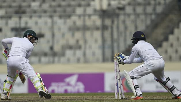 Bangladesh lost the Test series courtesy a loss in Mirpur © AFP