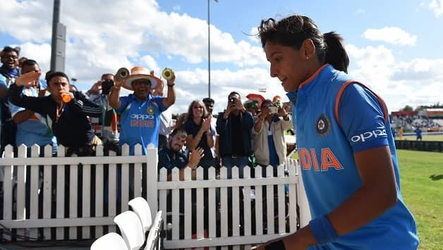 Harmanpreet Kaur was named female cricketer of the year © Getty Images