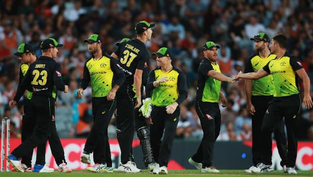 Australia entered the contest as No. 7 T20I team © Getty Images