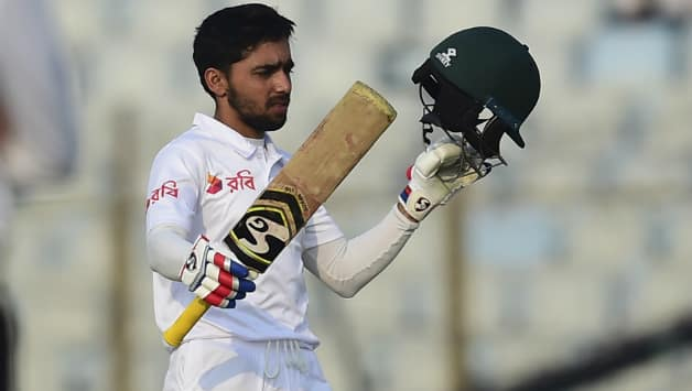 Mominul Haque became the first Bangladesh batman to hit century in each innings of a Test © AFP