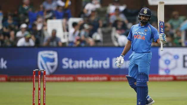 India vs South Africa, 5th ODI: Rohit Sharma score century; Lungisani Ngidi restricts visitors at 274/7