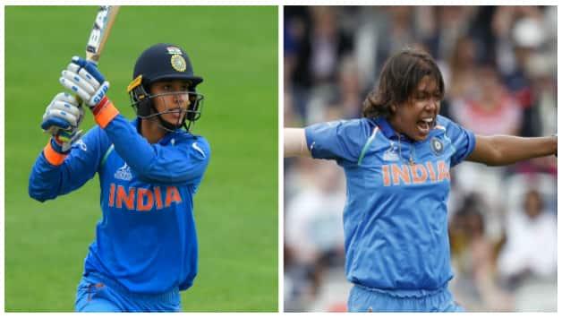 Smriti Mandhana and Jhulan Goswami © Getty Images and IANS