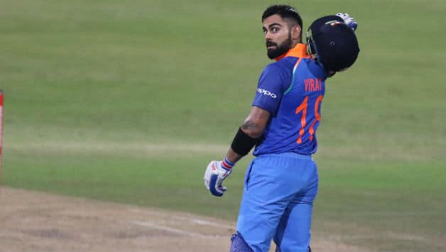 Virat Kohli scored his 33rd ODI hundred. His first in South Africa against the home side © AFP