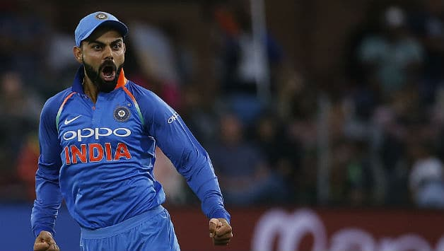 This was India's first ever bilateral series win in South Africa © AFP