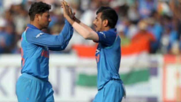 Yuzvendra Chahal says he enjoys bowling with Kuldeep