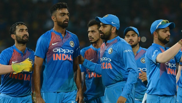 Team India lost the first match against Sri Lanka © AFP