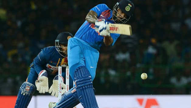 India lost the first T20I vs Sri Lanka at Colombo. (Image courtesy: AFP)