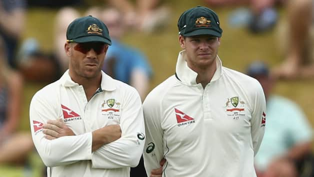 David Warner (L) and Steven Smith © Getty Images