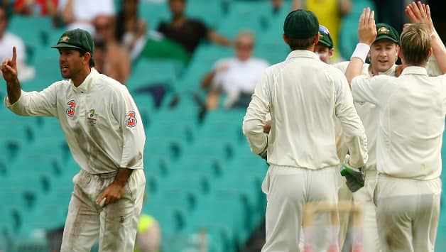 Remember, late Peter Roebuck's assessment of the Sydney Test of 2008? He had accused Ricky Ponting of turning 'a group of professional cricketers into pack of wild dogs' © Getty Images