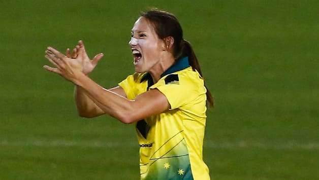Video: Megan Schutt becomes first Australian Women to claim a hat-trick in T20I