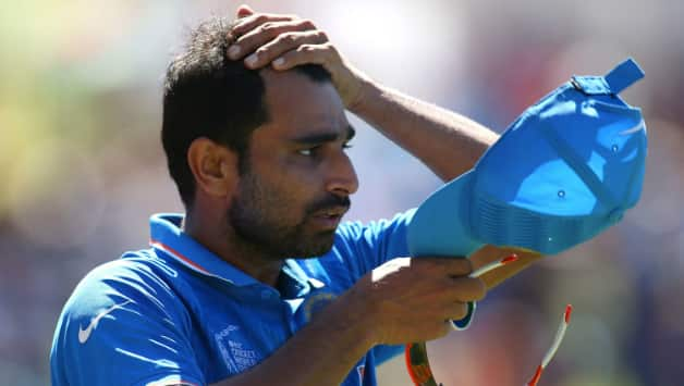 MS Dhoni speaks out on Mohammed Shami scenario