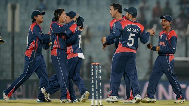 Nepal team © AFP