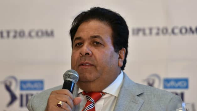 Rajeev Shukla was present at the occasion © AFP