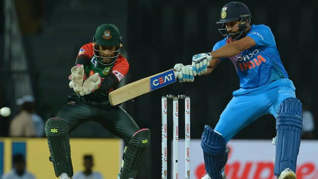 Rohit Sharma went past Yuvraj Singh to record most sixes for India in T20Is © AFP