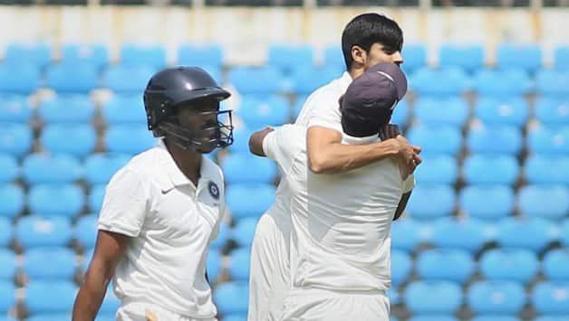 Vidarbha team claim their second domestic title © PTI