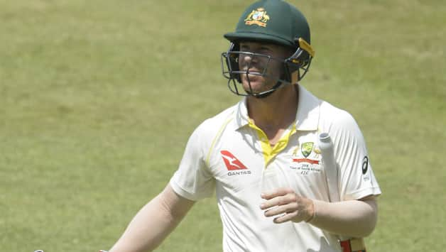 Australia's Warner fined but cleared for second S.Africa Test
