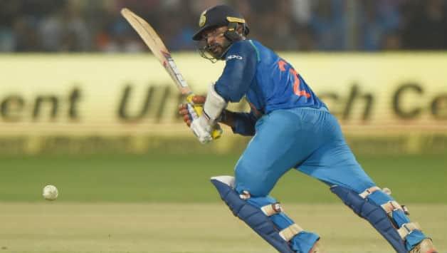 Nidahas Trophy Final T20I: Dinesh Karthik's last ball six hand India title win over Bangladesh