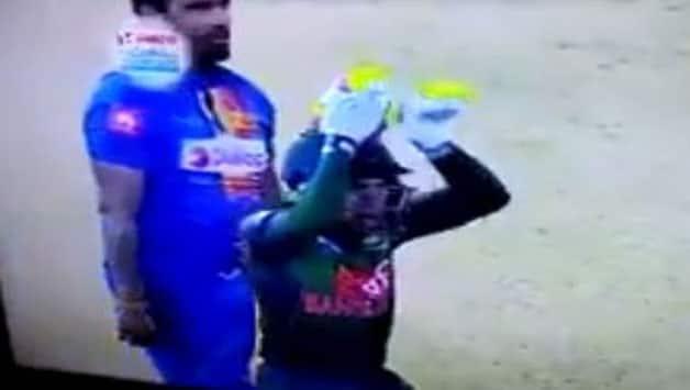 Bangladesh's Mushfiqur Rahim Celebrates win over Sri Lanka with 'Nagin Dance'