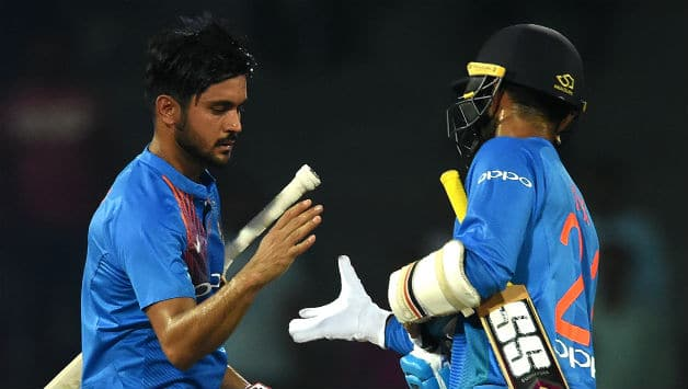Nidahas Trophy 2018, India vs Sri Lanka: Wanted to stay till the end, says Manish Pandey