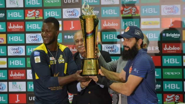 Either of the teams will have told the PSL Trophy for the second time (Image courtesy: AFP)