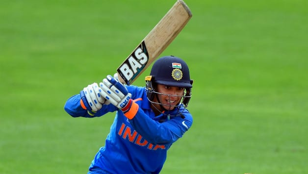 Smriti Mandha's 67 is the highest score by an Indian against Australia © Getty Images