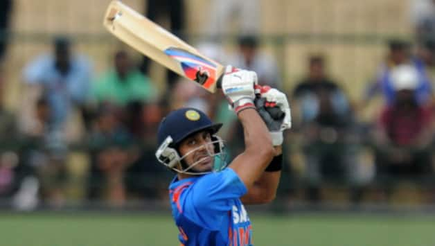 Manoj Tiwary followed up his fine century with another 59* to guide India B to Deodhar Trophy title (Image courtesy: AFP)
