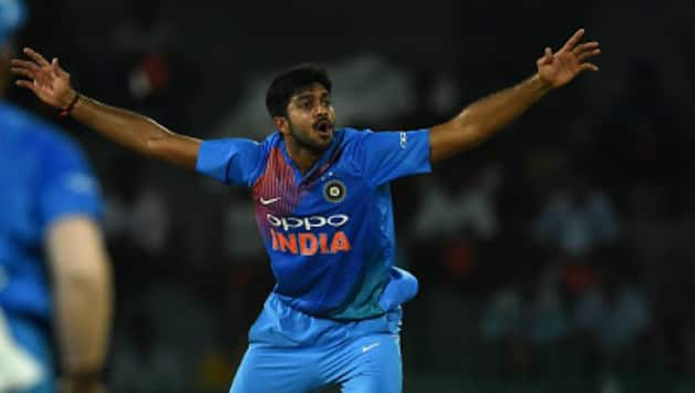 vijay shankar don�t want to put pressure on myself by