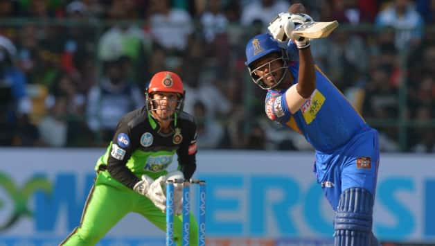 Sanju Samson played a great knock of unbeaten 92 runs against RCB in Bangalore this IPL (Photo Source - IANS)