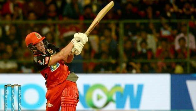 IPL 2018 : AB De Villiers Hits Biggest Six Of IPL 2018