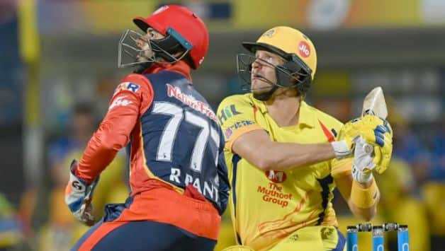 Shane Watson made a blistering 78 © AFP