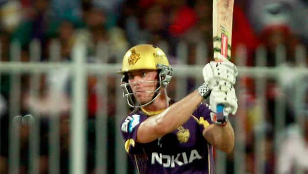 IPL 2018: Chris Lynn practises in nets before KKR-RCB match
