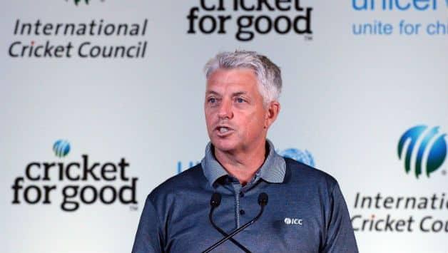 ICC CEO David Richardson  © AFP