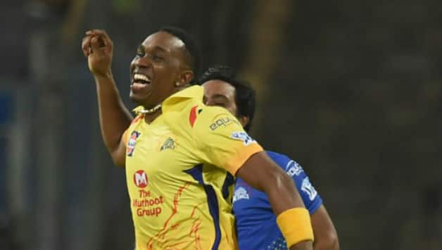 Dwayne Bravo scored 68 and picked two wickets for Chennai © AFP