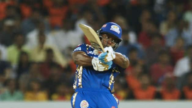 Evin Lewis scored 29 off 17 before getting dismissed by Siddarth Kaul © AFP