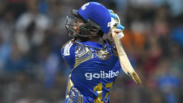 Evin Lewis scored his first ever IPL fifty © AFP