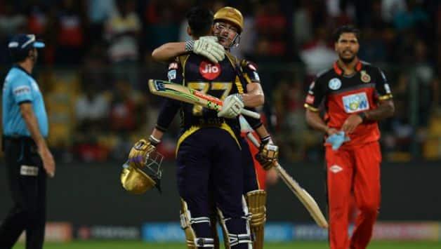 KKR won by 6 wickets © AFP
