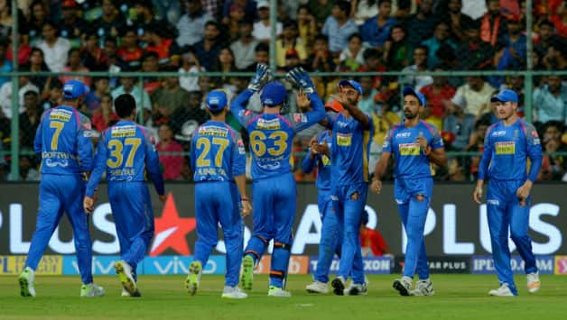 IPL 2018: Evin Lewis, Rohit Sharma get Mumbai off the mark