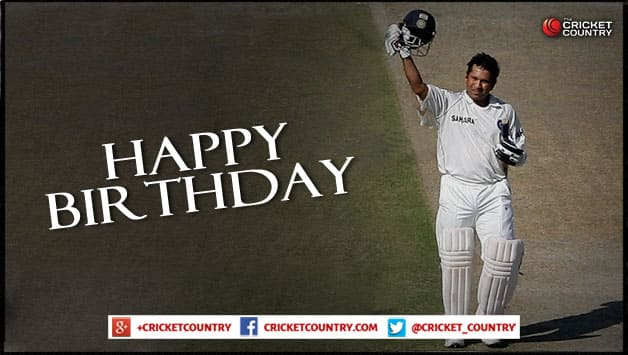 Happy Birthday Sachin Tendulkar: Wishes pour in from all over the world as Master Blaster turns 45