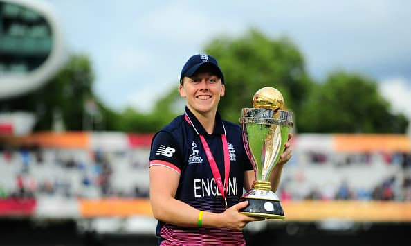 Heather Knight led England to their 4th World Cup title © Getty Images