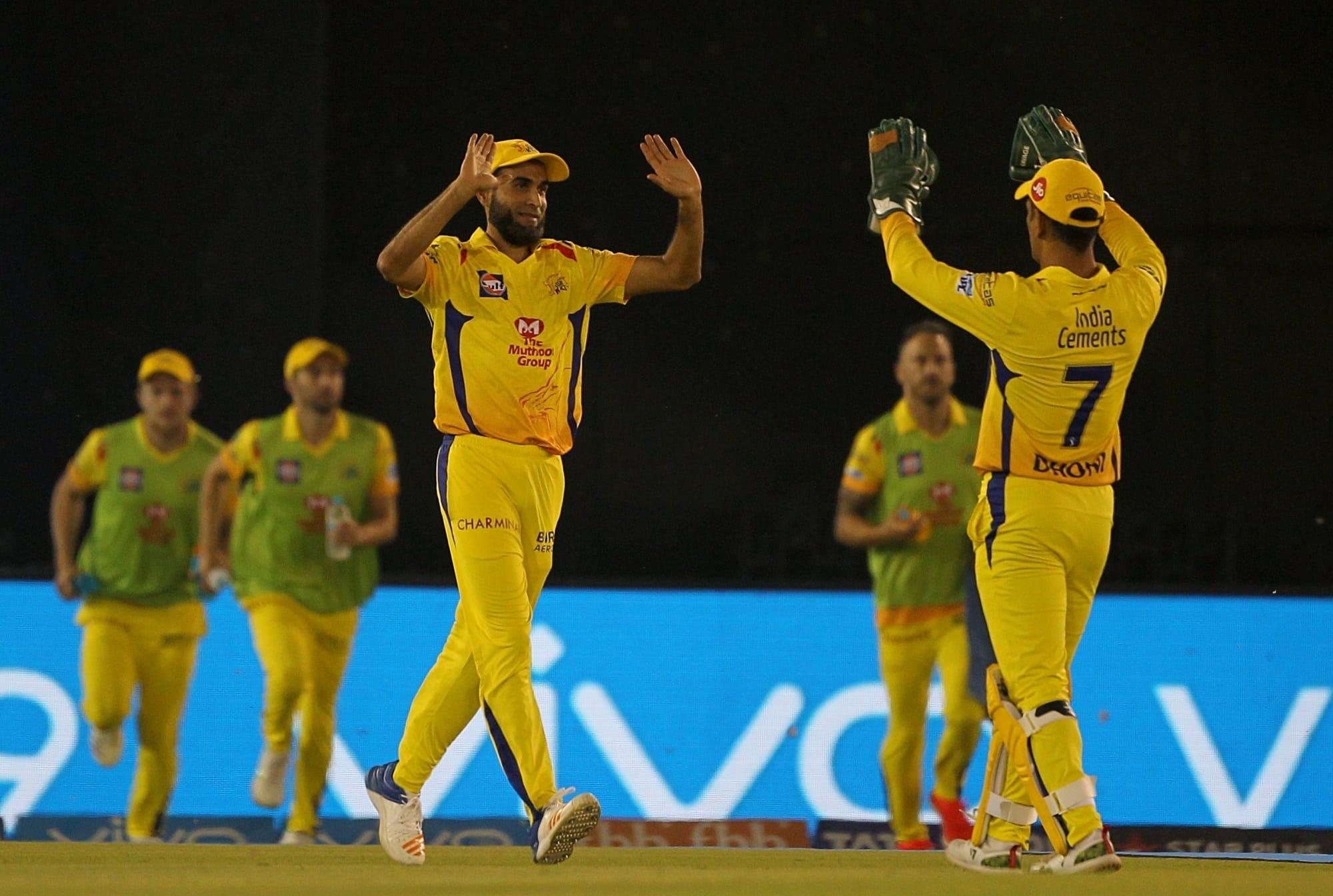 Amid Chris Gayle Storm, Imran Tahir completes 50 wickets in IPL during CSK vs KXIP ties