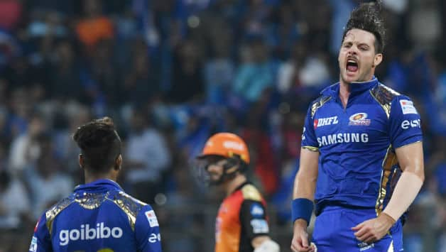 The Hardik -McClenaghan combo took four wickets in total. (IANS)