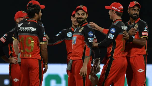 Royal Challengers Bangalore's bowlers delivered in tandem © AFP