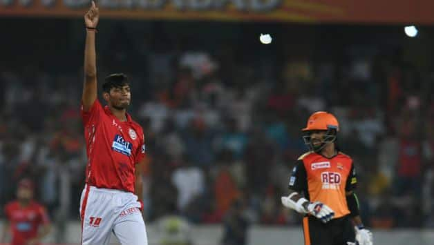 Ankit Rajpoot broke the back of the SRH batting order. (IANS)