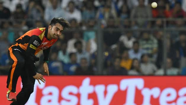 Rashid Khan picked 2 wickets and also bowled an maiden over © AFP