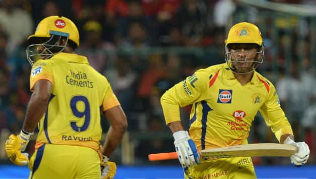 MS Dhoni along with Ambati Rayudu added 101 runs for the fourth wicket © AFP
